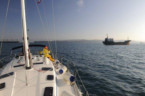 Prokličkovali jsme tankery kotvícími před Terstem (J. Novák)