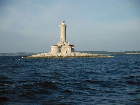 Nejjižnější cíp Istrie. Maják Poreč.