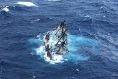 Bounty se potápí (zdroj: wikipedia.com)
