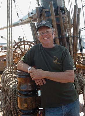 Kapitán Robin Walbridge. Zdroj: Herald News