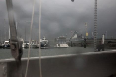 Typické počasí během našeho pobytu.