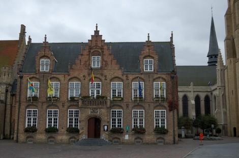 Radnice v Nieuwpoortu.