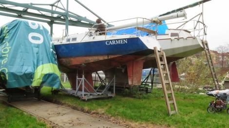 Carmen na suchu.