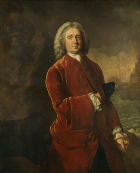 Admirál Edward Vernon a jeho kabát.