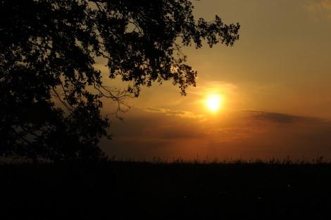 Západ slunce na ostrově Helen