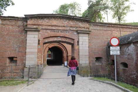 Vchod do pevnosti