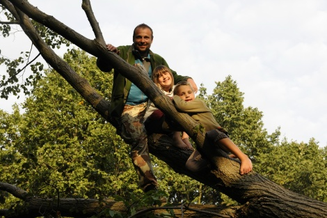 Rodinka na stromě