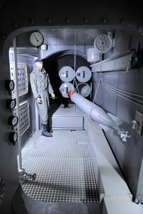 Vnitřek ponorky