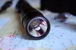 Detail reflektoru a diody Cree XM-L2