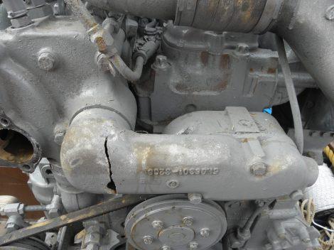 Poškozený nový motor